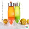 Kép 1/8 - H2O Sport italtartó, citrus facsaróval, több színben.