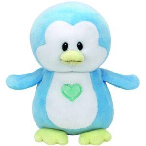 Baby TY plüss figura TWINKLES, 15 cm - kék pingvin