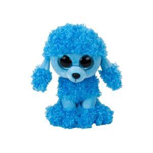BOOS plüss figura, MANDY, 15 cm - kék pudli