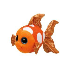 BOOS plüss figura SAMI, 15 cm - narancssárga hal