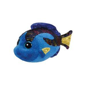 BOOS plüss figura AQUA, 15 cm - kék hal