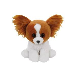 Beanie Babies plüss figura BARKS, 15 cm -  barna kutya
