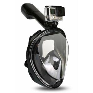 HolaShop Snorkel teljes arcmaszk, búvármaszk L/XL méret