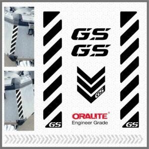 BMW GS Fekete fényvisszaverő matrica R1200GS 1150 F800 F650 F701