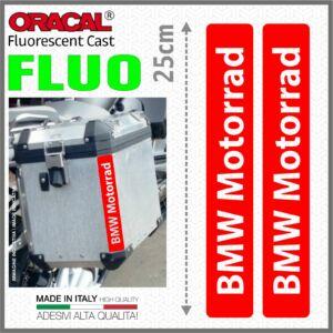 2x BMW Motorrad Piros fényvisszaverő matrica R1200 1150 F800 F650 F700 GS