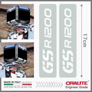 BMW R1200GS Fehér Fényvisszaverő matrica TOP CASE