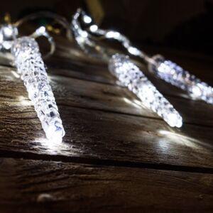Karácsonyi Jégcsapfüzér, 65 hider fehér LED