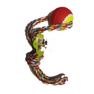 Kutya játék teniszlabdával 40 cm