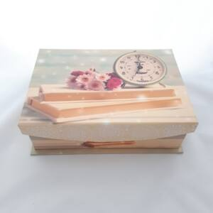 Dekor doboz M, Óra, 24*17,5*8cm