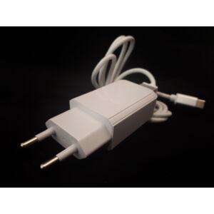 Hálózati USB töltő + Type-C kábel NO: 2086