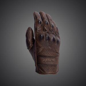 Monster BROWN gloves, 4SR Motoros barna kesztyű S