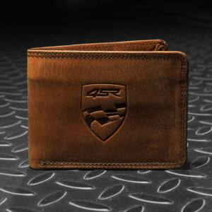 4SR Cash Wallet, Money maker brown, Bőr pénztárca