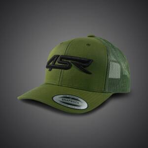 4SR Team Green Cap, Baseball Kalap