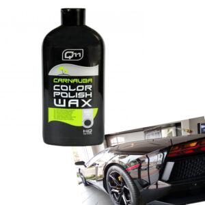 Q11 Carnauba viaszos wax fekete színhez 500 ml