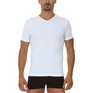 Focenza FFI V-nyakú póló, fehér