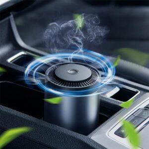 Baseus Ripple autós pohártartóba helyezhető illatosító, Black illat, fekete (SUXUN-BW01)