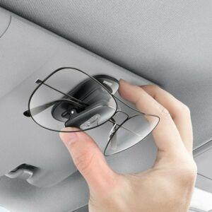 Baseus Platinum autós rögzítőcsipesz szemüvegekhez, fekete