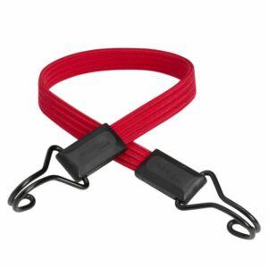 Lapos gumipók 60cm x 18mm -40kg, piros + dupla kampóval