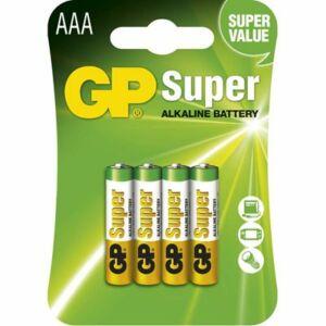 GP MicroCeruza elem AAA SUPER LR03 4DB-os