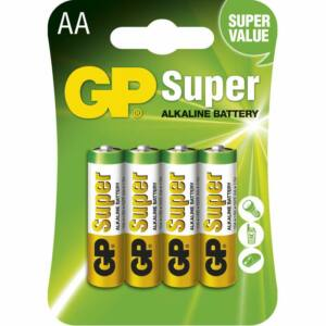 GP Ceruzaelem AA SUPER LR6 4DB-os