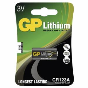 GP Lítium Elem CR123A 1BL