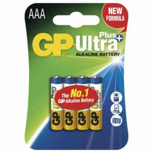 GP MicroCeruza elem AAA ULTRA PLUS LR03 4DB-os