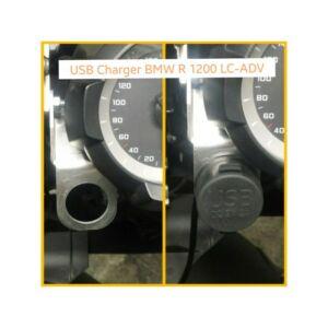 USB csatlakozó tartó BMW R1200 GS LC / ADV 2013-2015 / USB Support