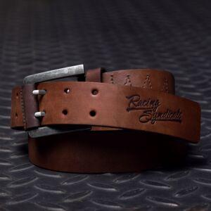 4SR Leather belt Double, Bőr Öv