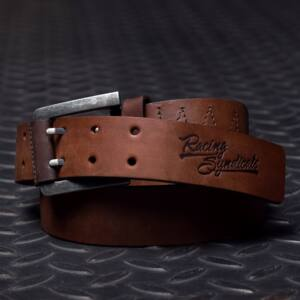 4SR Leather belt Double, Bőr Öv