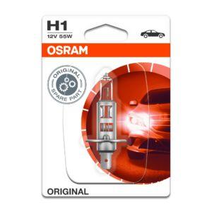 Osram H1 12V 55W izzó P14,5s Bliszter