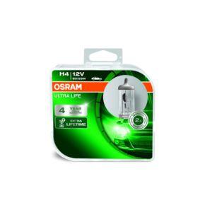 Osram H4 12V 60/55W Ultra Life 3 év garancia, fényszóró Duo pack