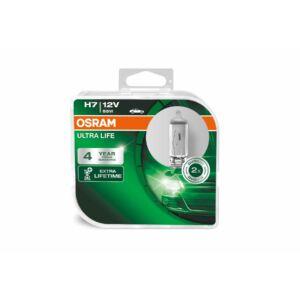 Osram H7 12V 55W Ultra Life 3 év garancia, fényszóró Duo pack