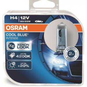 Osram H4 12V 55W COOL BLUE® INTENSE H4 DUO BOX