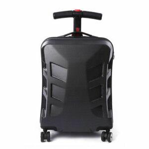 Roller Bőrönd - Fekete