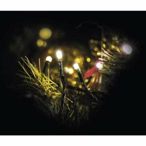 Karácsonyi izzósor 100 LED időzítővel 10M WW