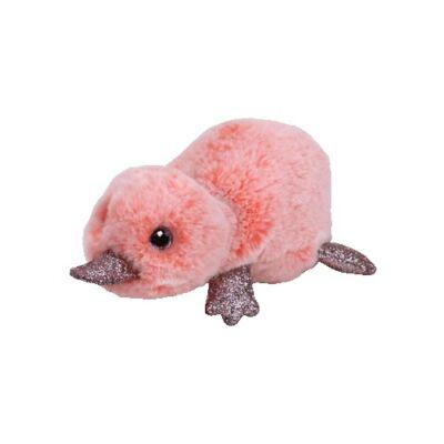 BOOS plüss figura WILMA, 15 cm - rózsaszín kacsacsőrű emlős