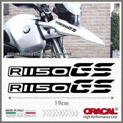 2x R1150GS Fekete BMW 99-04 Matrica