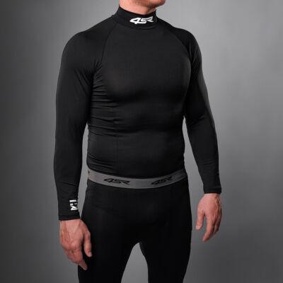 4SR aláöltöző felső, hosszú újjú, fekete_XL