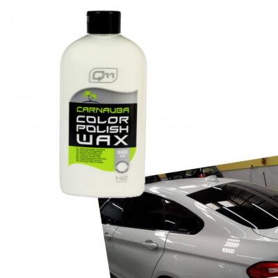 Q11 Carnauba viaszos wax fehér színhez 500 ml