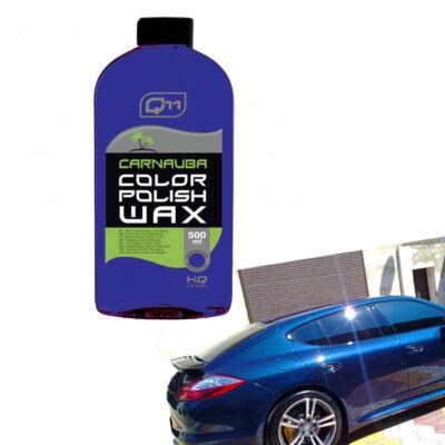 Q11 Carnauba viaszos wax sötétkék színhez 500 ml