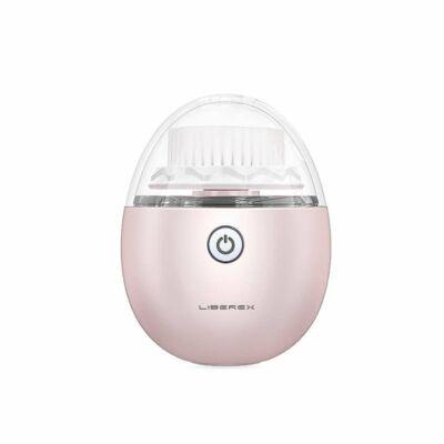 Liberex tojás vibrációs arctisztító kefe, pink
