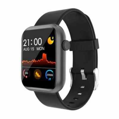 Colmi P9 Smartwatch okosóra, fekete