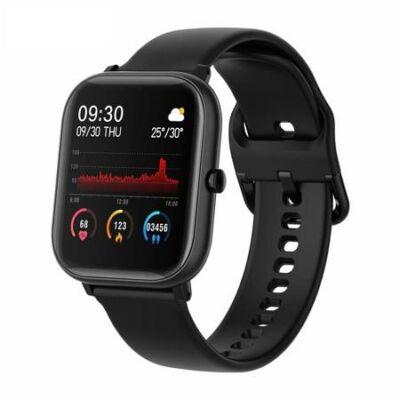 Colmi P8 SE Smartwatch okosóra, fekete