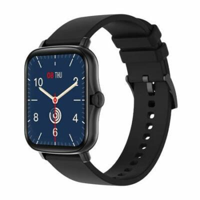 Colmi P8 Plus Smartwatch okosóra, fekete