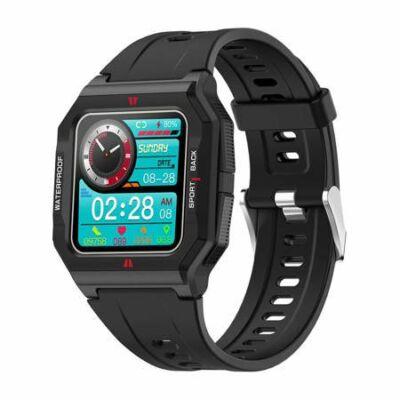 Colmi P10 Smartwatch okosóra, fekete