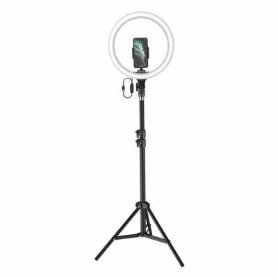 Baseus 30cm LED körfény és magas tripod állvány, ringlight fekete (CRZB12-B01)