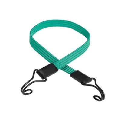Master Lock gumipók, lapos, 80cm x 18mm, -40kg,zöld,dupla kampóval