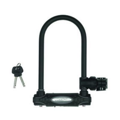 Master Lock kerékpár, motorkerékpár lezáró lánc,U lakat (210*110*13mm) edzett acél kengyellel