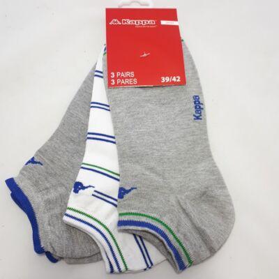 Kappa FFI rövid szárú zokni, vegyes szín, 39-42, 3db-os