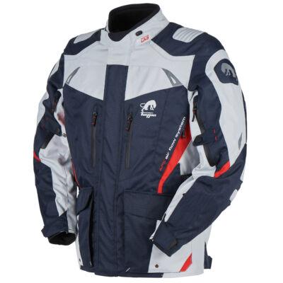 Furygan Apalaches férfi 4 évszakos motoros kabát, kék-pearl-piros, Airbag ready